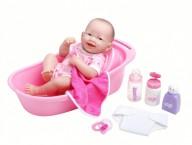 Кукла Пупс JC Toys LA NEWBORN с ванночкой
