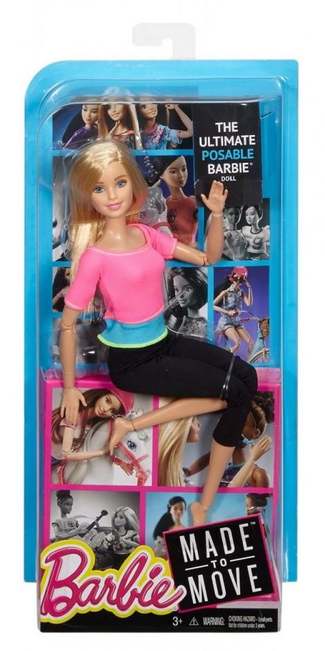 Кукла Барби йога розовый топ