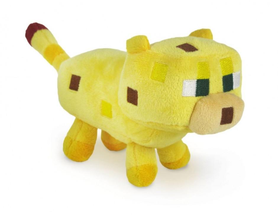 Майнкрафт Оцелот мягкая игрушка