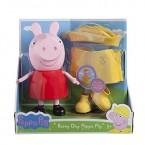 Большая Свинка Пеппа в дождевике