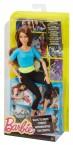 Кукла Барби Йога шатенка Голубой топ
