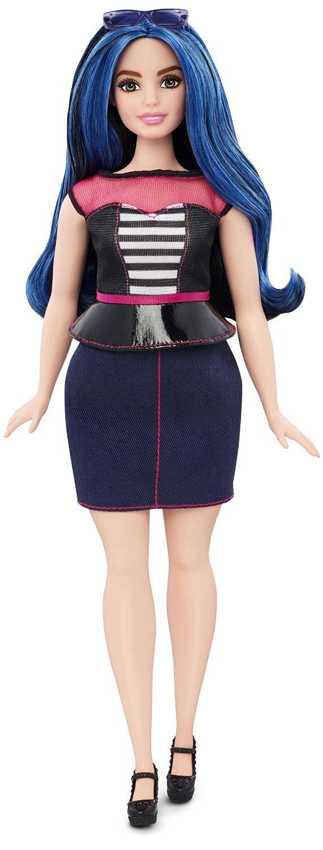 Кукла Барби Модница Полная Милые полосы