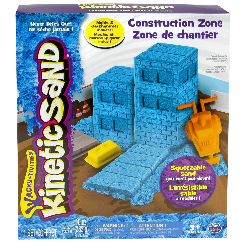 Кинетический песок Зона строительства