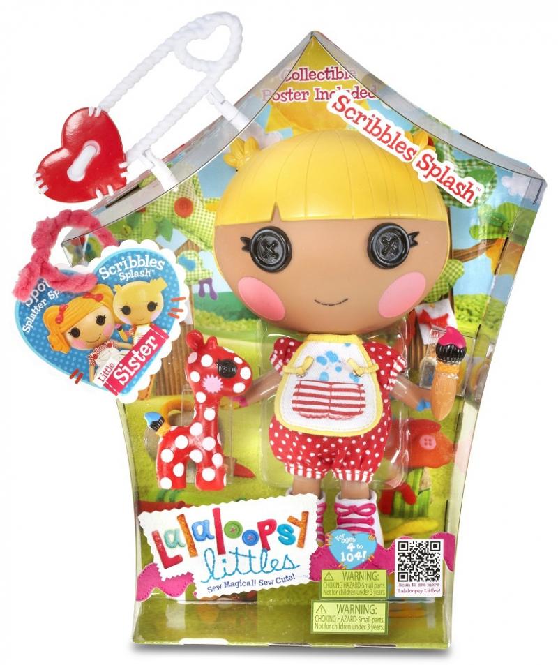 Кукла Лалалупси маленькая художница