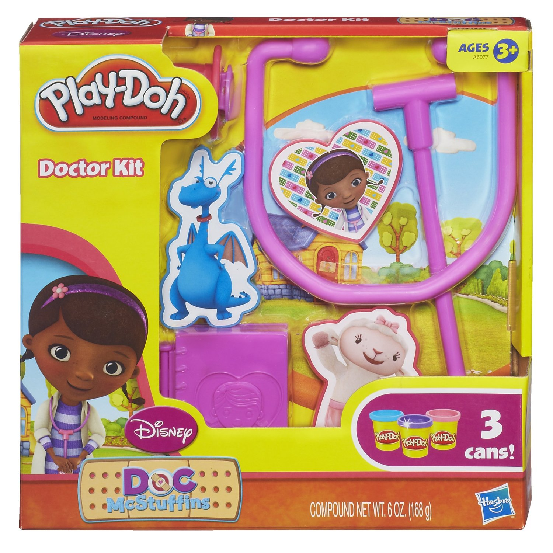 Пластилин Play-Doh Доктор Плюшева