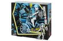 Кукла Френки Штейн серия на велосипеде