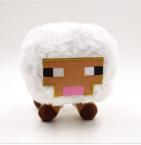 Майнкрафт плюшевая белая овечка