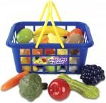Корзинка с фруктами и овощами