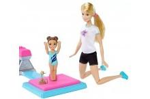 Кукла Барби гимнастка и ученица