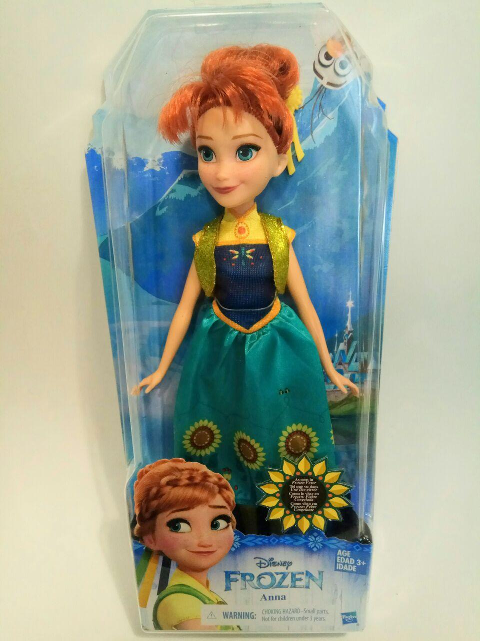Дисней Кукла Анна Холодное торжество