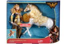 Кукла шарнирная Королева Ипполита и лошадь DC Wonder Woman Queen Hippolyta and Horse