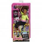 Кукла Барби Йога Шарнирная Афроамериканка Barbie Made To Move