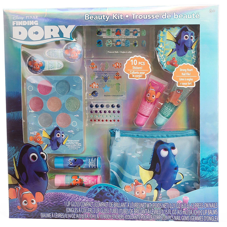 Косметика, набор для ногтей и косметичка из Америки в Поисках Дори Finding Dory Beauty Kit