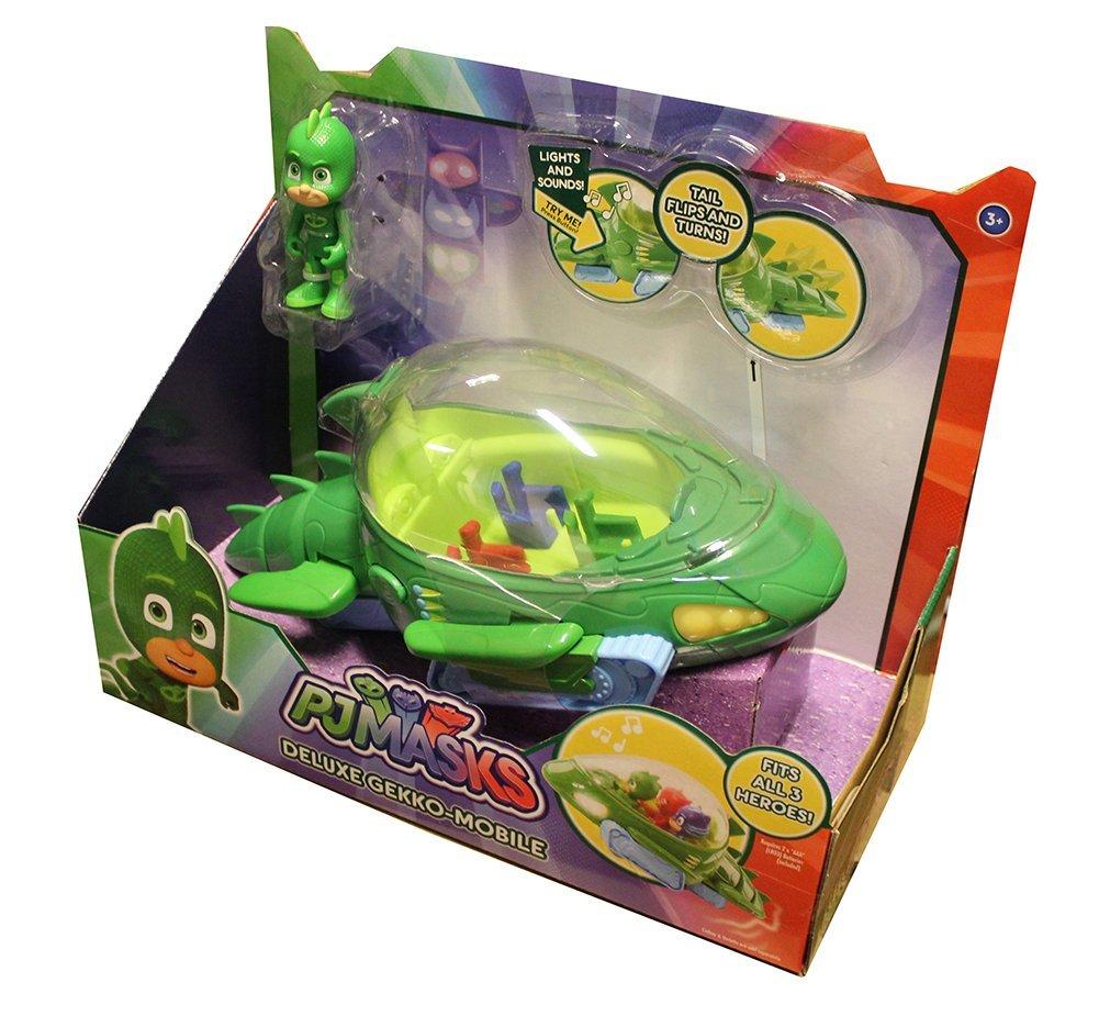Just Play PJ Masks Deluxe Gekko Vehicle Герои в масках Гекко автомобиль делюкс