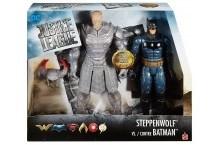 Бэтмен и Степпенвульф DC Justice League Batman vs Steppenwolf