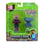 Набор Майнкрафт деревенский кузнец и наковальня Minecraft Blacksmith Villager
