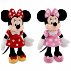 Минни Дисней оригинал мягкая игрушка розовая и красная Minnie Mouse Plush Disney