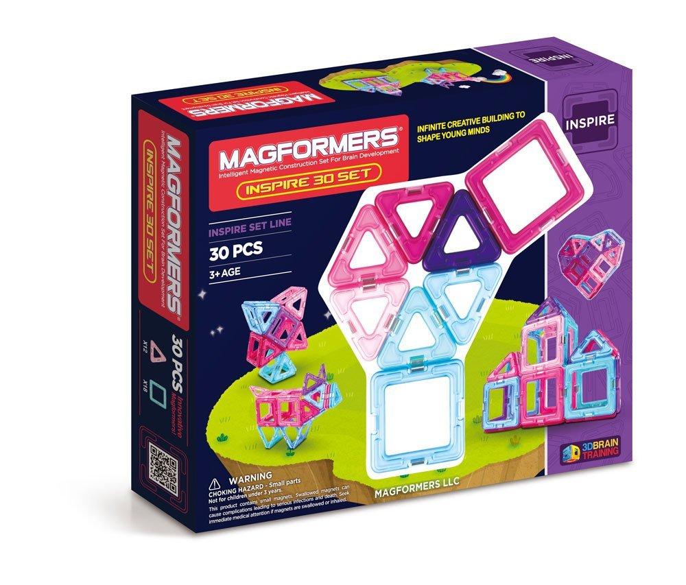 Магнитный конструктор Магформерс 30 деталей Magformers Inspire Set