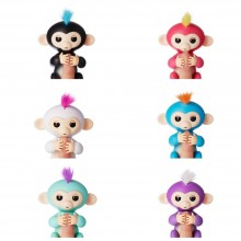 WowWee Fingerlings - Interactive Baby Monkey Оригинал Интерактивная обезьянка на палец