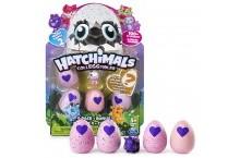 Хатчималс набор 4 штук яиц и бонусная фигурка Hatchimals Egg