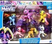 Май литл пони набор 6 штук пони пираты My Little Pony the Movie Pirate Ponies