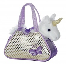 Плюшевый единорог в сумке Aurora World Fancy