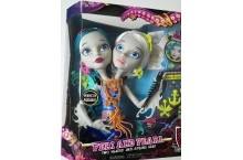 Монстер Хай Пери и Перл манекен для макияжа и причесок Monster High Peri and Pearl Styling Head