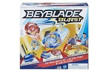 Бейблейд арена желтая и 2 волчка Beyblade Burst Epic Rivals Battle
