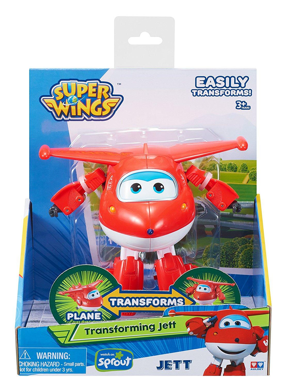 Супер крылья Джетт 12см Super Wings Transforming Jett