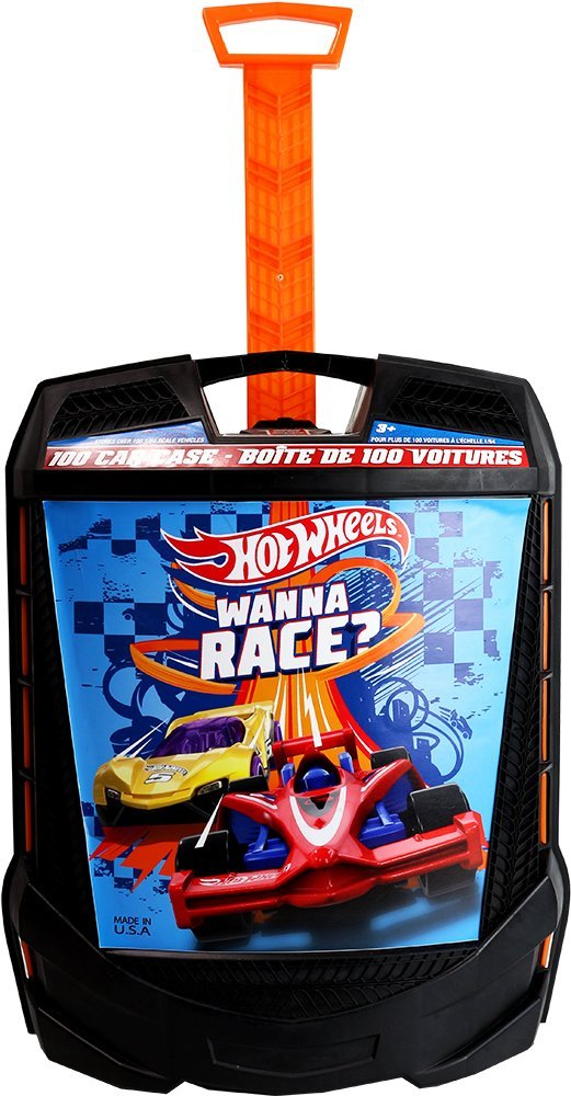 Кейс чемодан для авто Хот вилс 100 штук Hot Wheels 100 Car Case