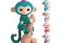 Оригинал Интерактивная обезьянка с блестками WowWee Fingerlings Interactive Monkey