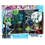 Май литтл пони Королева Кризалис и дракон Спайк My Little Pony Queen Chrysalis Spike Dragon