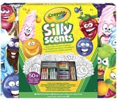 Крайола набор пахнущей канцелярии пахнущие фломастеры 50 штук Crayola silly Scented