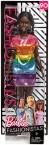 Кукла Барби темнокожая Barbie Fashionistas Rainbow Bright
