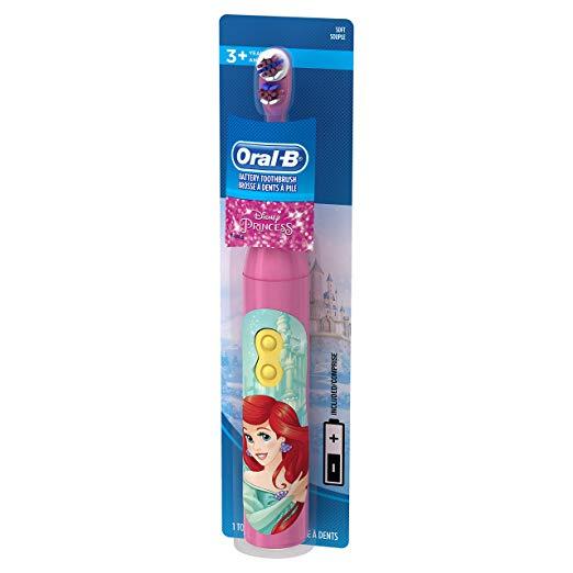 Детская электрическая зубная щетка Принцессы Oral-B Kids