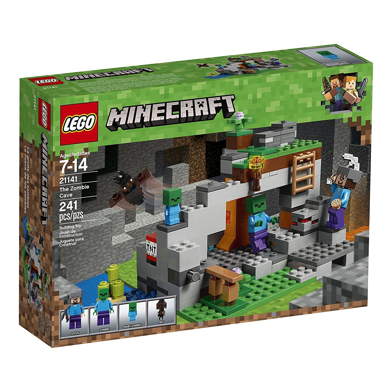 Лего майкрафт пещера зомби LEGO Minecraft The Zombie Cave 21141