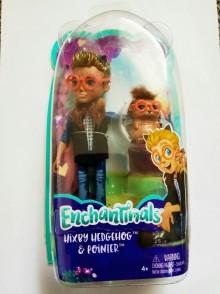 Кукла Энчантималс Ёж Хиксби и Поинтер Enchantimals Hixby Hedgehog