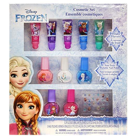 Детская косметика блеск и лак для ногтей Холодное сердце TownleyGirl