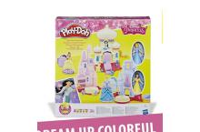 Пластилин Плей до Замок принцесс Белль и Золушка Play-Doh Disney Princess Toy Castle