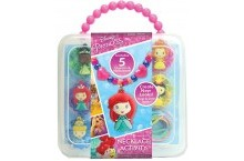Диснеевские принцессы набор сделай сам бусы и амулет Disney Princess Necklace