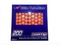 Упаковка 10 штук дартс Нерф Nerf N-Strike Elite Dart