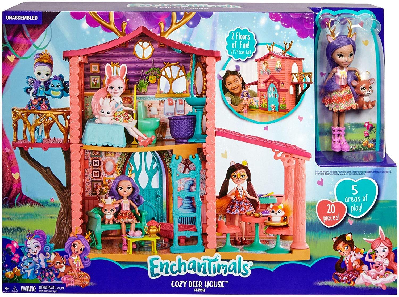 Дом Данессы Оленни FRH50 Энчантималс Enchantimals Cozy Deer House