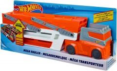 Автовоз тягач трейлер Хот вилс Hot Wheels Mega Hauler