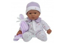 Пупс мягкий 28 см JC Toys La Baby