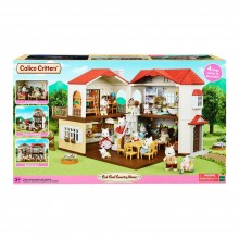 Дом в деревне красная крыша Сильваниан фемелис Sylvanian Families Calico Red Roof Country Home