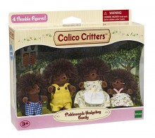 Сильваниан Фемелис семья Ёжиков Calico Critters Hedgehog Family