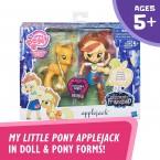 Май литтл пони Эпплджек и блестящая пони My Little Pony Applejack Glitter Pony
