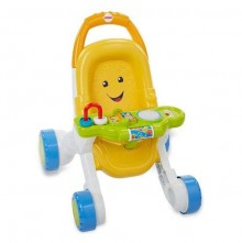 Фишер прайс коляска ходунки толкатели Fisher-Price Stroll Learn Walker