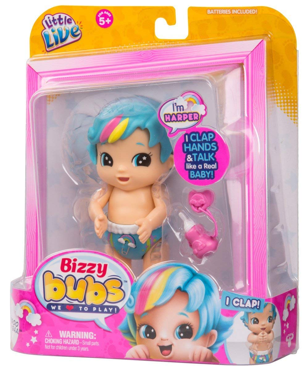 Бизи биззи бубс пупс Харпер LITTLE LIVE Bizzy Bubs Harper