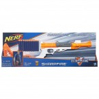 Бластер НЕРФ 6 в 1 Шарп Файер Nerf N-Strike SharpFire